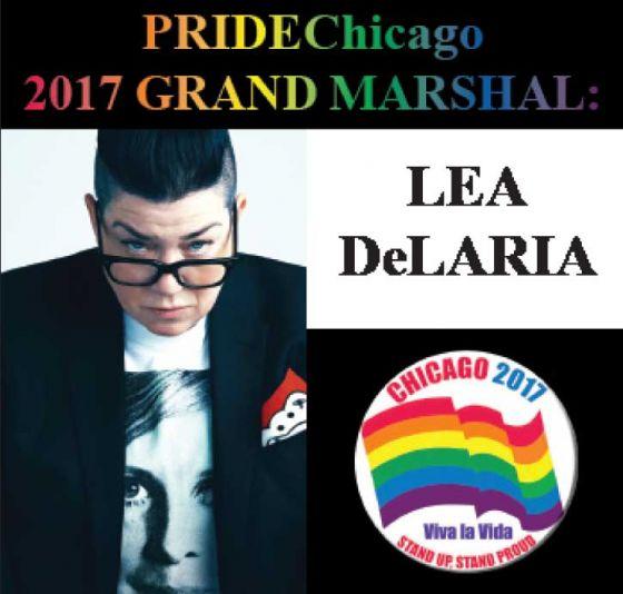 Lea DeLaria Pride Chicago 2017 Grand Marshal