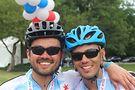 Steven Acosta on left; Jose Salinas on right. Photo by Julie Supple