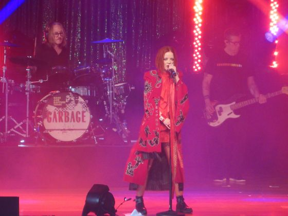CONCERT REVIEW Garbage opens up while Blondie covers up