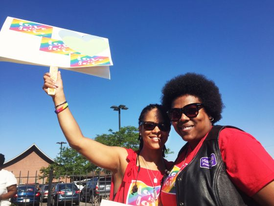 742 - Protesters fight against bias at Apostolic Church of God - Gay