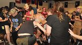 Moshing at Fed Up Fest. Photo by Vern Hester