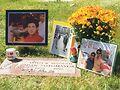 Sotomayor's headstone. Photo courtesy of Keehnen