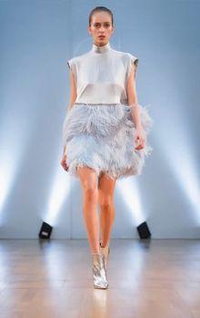 Project-Runway-designer-shows-items-at-Paris-Fashion-Week