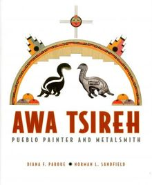Awa-Tsireh-paintings-metalworks-exhibit-in-Arizona-