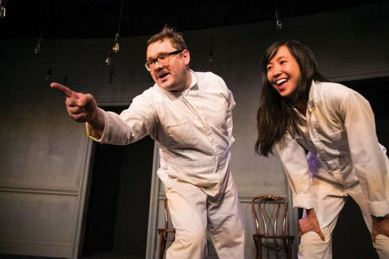 THEATER REVIEW Dream Freaks Fall from Space