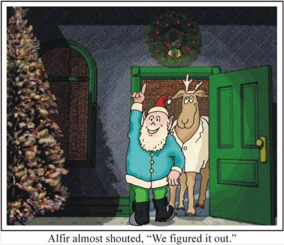 The Reindeer Conundrum Part Five