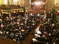 The candidates forum at Second Presbyterian Church. Photo by Tracy Baim