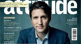 Canadian PM Justin Trudeau on cover of Attitude magazine.