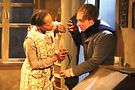 Eunice Woods and Nate Whelden in Hinter. Photo by Gregg Gilman