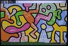 Image from Keith Haring: The Chicago Mural exhibit