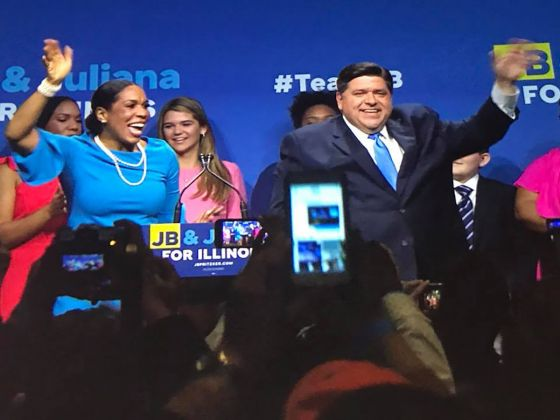 Pritzker wins primary; Robinson makes history