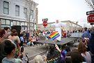 Oriana Peron performs at Columbus Pride. Photo by Carla Clark