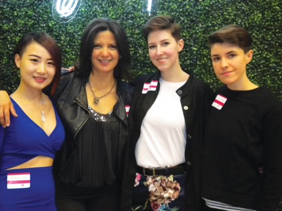 Women2Women launches with party