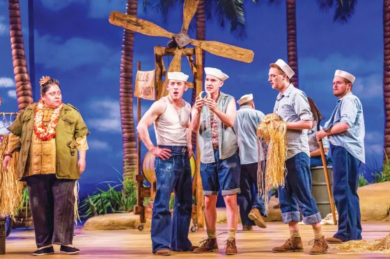 THEATER REVIEW South Pacific