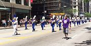 Lakeside Pride Freedom Marching Band .Photo by Jean Albright
