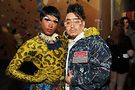 Bambi Banks and Tenderoni strike a pose. Photos by Vern Hester