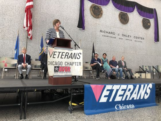 City hosts LGBTQ Veterans Salute