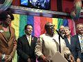 Ald. Dowell, Ald. Lopez, Kim Hunt, Ald. Tunney, Commissioner Mona Noriega, Ald. Cappleman. Photo by Tracy Baim
