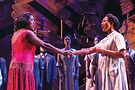 Carla R. Stewart and Adrianna Hicks in The Color Purple.Photo by Matthew Murphy