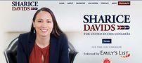 Candidate Sharice Davids.