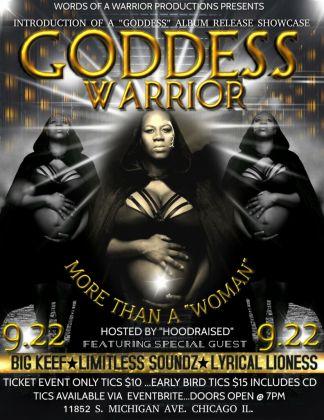 Birth, rebirth and reinvention, Goddess Warrior The Poet