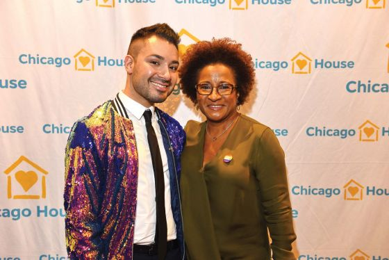 Sykes, Rippon speak at Chicago House event