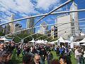 Chicago Gourmet in Millennium Park. Photo by Jerry Nunn