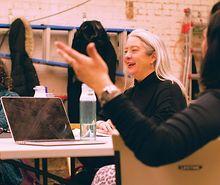 Diane-Robinson-talks-Chicago-Voice-Center