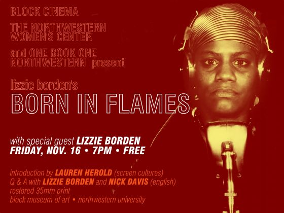 Director Borden to appear after Born in Flames screening