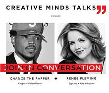 Creative-Minds-Talks-Chance-the-Rapper-Renee-Fleming-event-cancelled