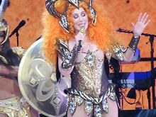 CONCERT-REVIEW-Cher-entertains-in-United-Center-show