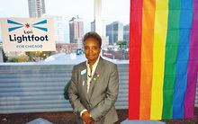 ELECTIONS-2019-MAYOR-Lori-Lightfoot-talks-LGBTQ-policy-police-accountability