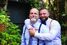 Kyle Wood (right) wed Larry Massen at Lincoln Park's A New Leaf on September 10, 2017. Chris Bergin Photography