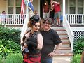 Tamale Sepp (left) and Vicky DiProva Photo courtesy of Michael Gorski