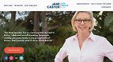 Website of Tampa mayoral candidate Jane Castor.