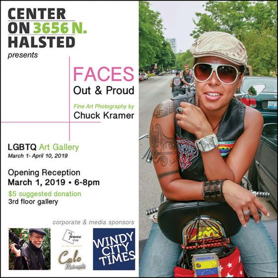 'FACES: Out and Proud' at Center on Halsted