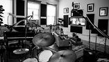 The Justin Tranter recording studio. Photo by Tom Mohr