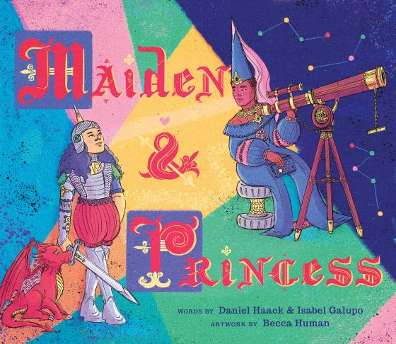 MOMBIAN Princess, maiden fall in love in new children's book