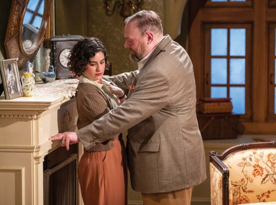 THEATER REVIEW For Services Rendered