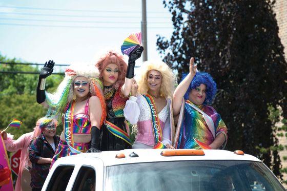 Aurora, Woodstock stage Pride Parades