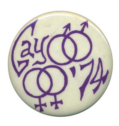 A stroll through LGBTQ button history