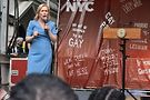 Kirsten Gillibrand at Stonewall 50 weekend in NYC. Photo by Darlene Photographics
