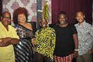 Cast of Love Fest 2019; Otis Mack, Flame Monroe, Ms.Ruff N Stuff, David Dodd and Erik Glenn. Photo by Vern Hester