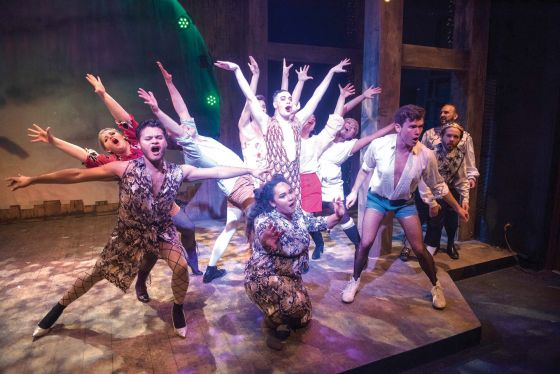 THEATER REVIEW Head Over Heels