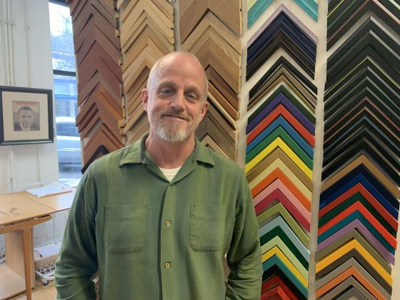 Custom frame shop has served LGBTQs for two decades