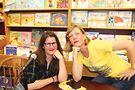 Kristen Arnett and Lindsay Hunter. Photo by Julia Hale
