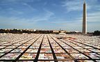 The AIDS Memorial Quilt. Photo courtesy of the NAMES Project