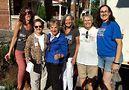 Sarah Hollenbeck, Lynn Mooney, Rep. Jan Schakowsky, Linda Bubon, Ann Christophersen and Rep. Kelly Cassidy. Photo by Carrie Maxwell