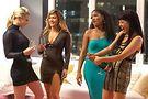 Lili Reinhart, Jennifer Lopez, Keke Palmer and Constance Wu in Hustlers. Photo by Barbara Nitke