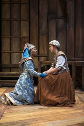 THEATER REVIEW Mother of the Maid